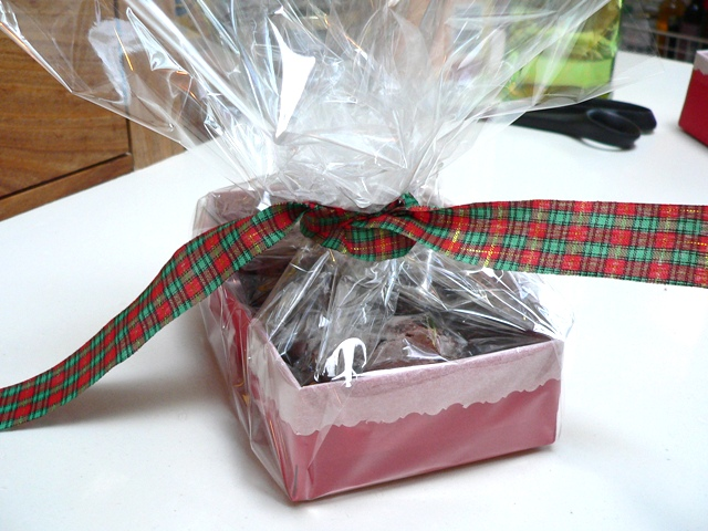 Origami Gift Basket Fig Jam And Lime Cordial