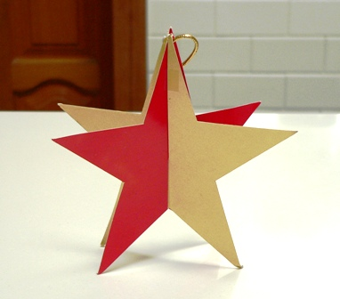 when - Cardboard Christmas Decorations