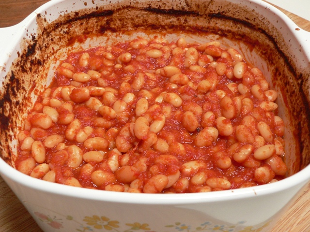 Homemade Baked Beans | Fig Jam and Lime Cordial