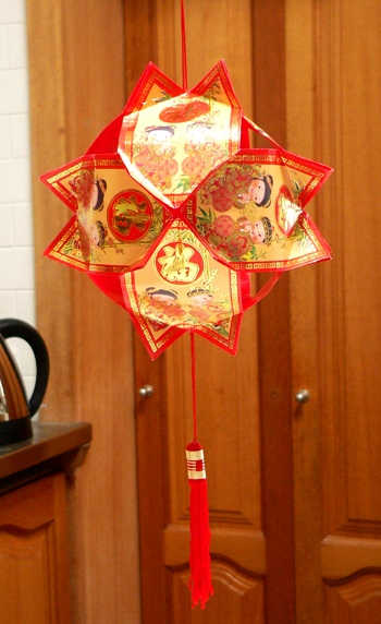 Hong bao lantern fig jam and lime cordial for Ang pao decoration