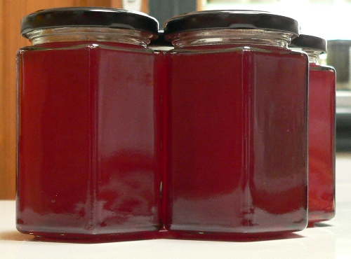 Medlar Jelly | Fig Jam and Lime Cordial