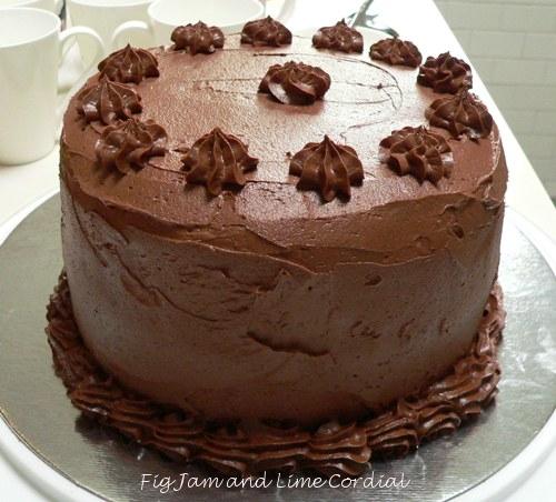 Birthday Cake Fig Jam And Lime Cordial