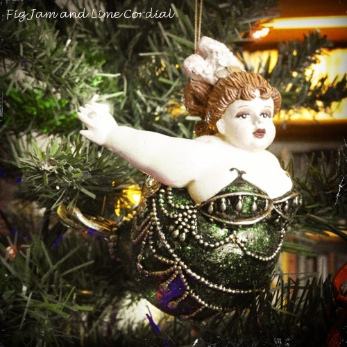 At our house, it isn't Christmas until the fat lady swings...